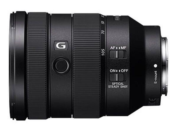 Sony SEL24105G - zoom lens - 24 mm - 105 mmSony SEL24105G - zoom lens - 24 mm - 105 mm, , hi-res