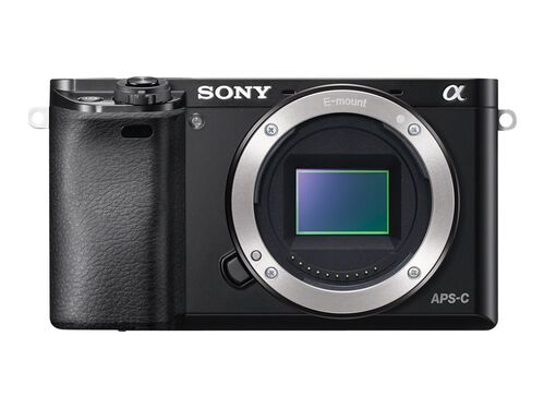 Sony α6000 ILCE-6000 - digital camera - body only, Black, hi-res