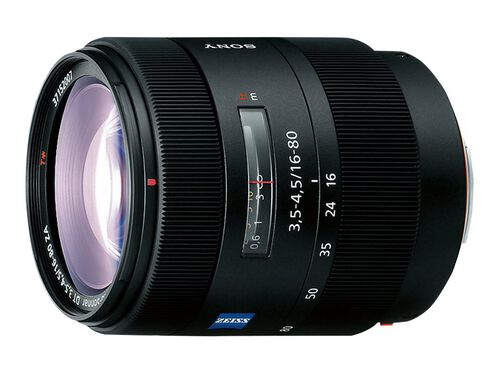 Sony SAL1680Z - zoom lens - 16 mm - 80 mm, , hi-res