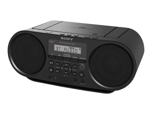 Sony ZS-RS60BT - boombox - CD, USB-host, , hi-res