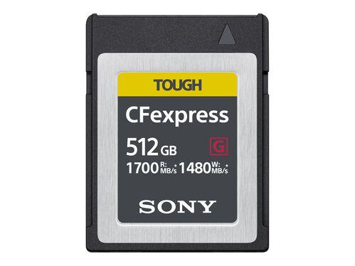 Sony CEB-G Series CEBG512/J - flash memory card - 512 GB - CFexpress, , hi-res