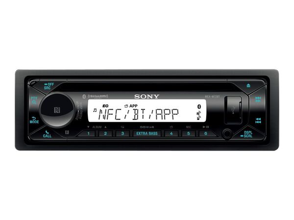 Sony MEX-M72BT - marine - CD receiver - in-dash unit - Full-DINSony MEX-M72BT - marine - CD receiver - in-dash unit - Full-DIN, , hi-res