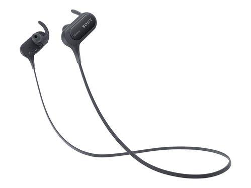 Sony MDR-XB50BS - earphones with mic, Black, hi-res