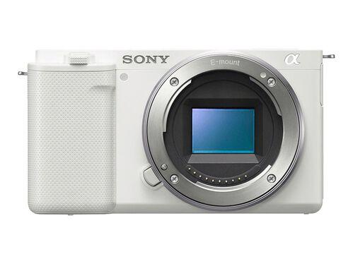 Sony α ZV-E10 - digital camera - body only, White, hi-res