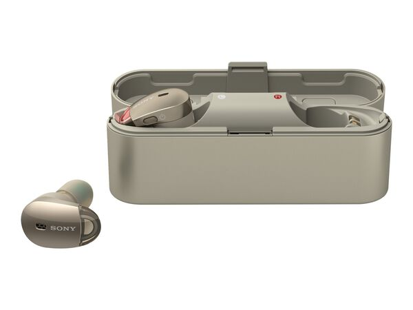 Sony WF-1000X - true wireless earphones with micSony WF-1000X - true wireless earphones with mic, Gold, hi-res