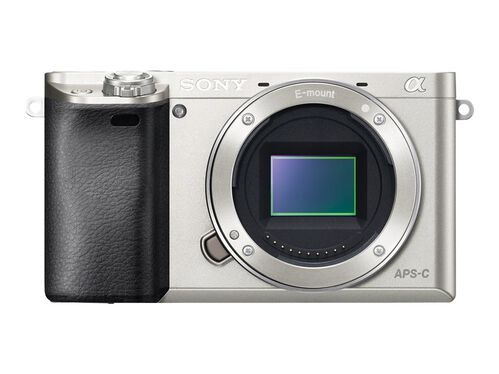 Sony α6000 ILCE-6000 - digital camera - body only, Silver, hi-res