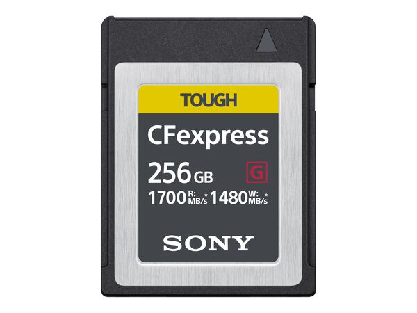 Sony CEB-G Series CEBG256/J - flash memory card - 256 GB - CFexpressSony CEB-G Series CEBG256/J - flash memory card - 256 GB - CFexpress, , hi-res