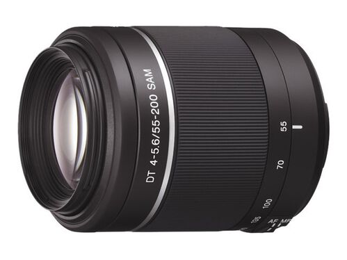 Sony SAL552002 - telephoto zoom lens - 55 mm - 200 mm, , hi-res