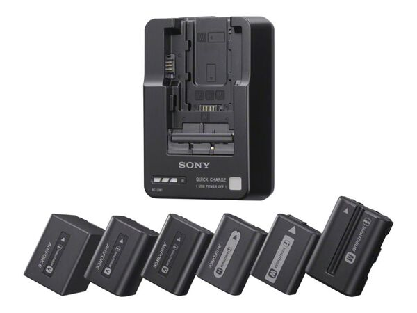 Sony BC-QM1 battery charger / power adapterSony BC-QM1 battery charger / power adapter, , hi-res