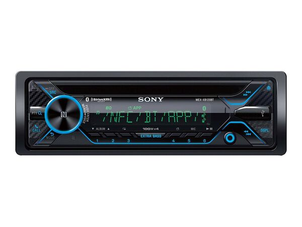 Sony MEX-XB120BT - car - CD receiver - in-dash unit - Full-DINSony MEX-XB120BT - car - CD receiver - in-dash unit - Full-DIN, , hi-res