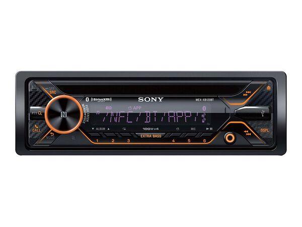 Sony MEX-XB120BT - car - CD receiver - in-dash unit - Single-DINSony MEX-XB120BT - car - CD receiver - in-dash unit - Single-DIN, , hi-res