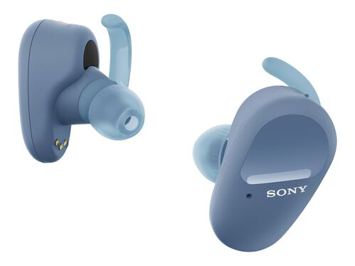 Sony WF-SP800N - true wireless earphones with mic, Blue, hi-res