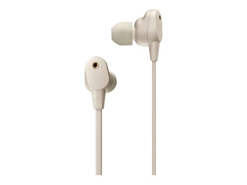 Sony WI-1000XM2 - earphones with mic, Silver, hi-res