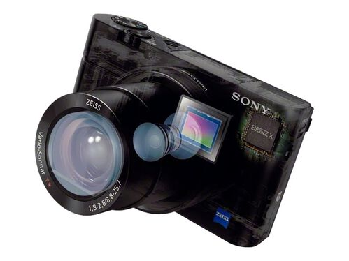 Sony Cyber-shot DSC-RX100 III - digital camera - Carl Zeiss, , hi-res