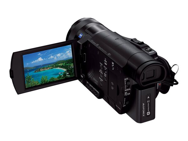 Sony Handycam FDR-AX100 - camcorder - Carl Zeiss - storage: flash cardSony Handycam FDR-AX100 - camcorder - Carl Zeiss - storage: flash card, , hi-res