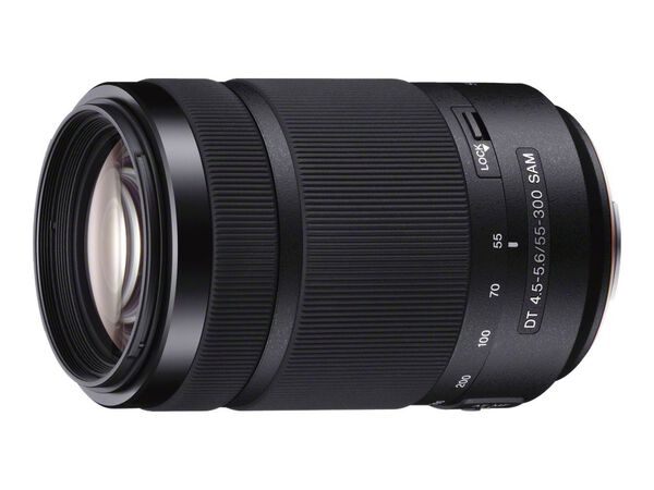 Sony SAL55300 - telephoto zoom lens - 55 mm - 300 mmSony SAL55300 - telephoto zoom lens - 55 mm - 300 mm, , hi-res