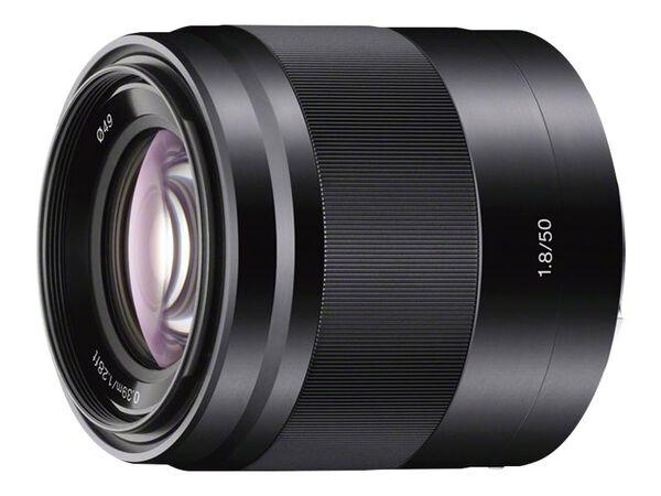 Sony SEL50F18 - lens - 50 mmSony SEL50F18 - lens - 50 mm, , hi-res