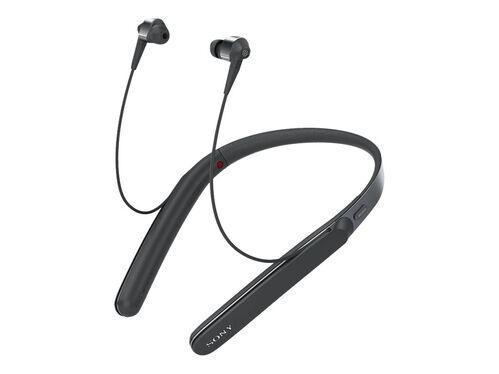 Sony WI-1000X - earphones with mic, Black, hi-res