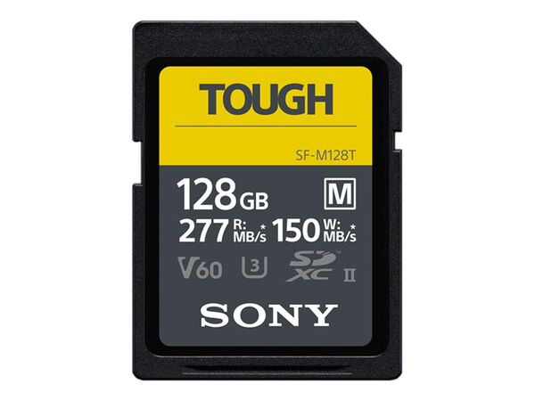 Sony SF-M Series Tough SF-M256T - flash memory card - 256 GB - SDXC UHS-IISony SF-M Series Tough SF-M256T - flash memory card - 256 GB - SDXC UHS-II, , hi-res