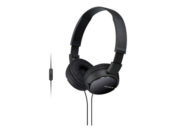 Sony MDR-ZX110AP - headphones with micSony MDR-ZX110AP - headphones with mic, Black, hi-res