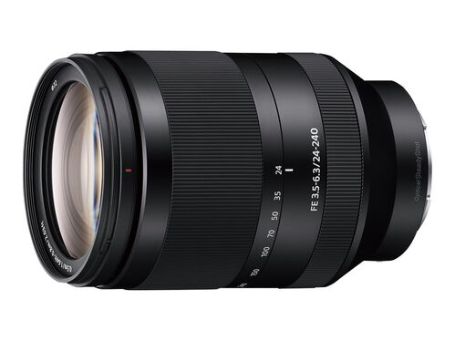 Sony SEL24240 - zoom lens - 24 mm - 240 mm, , hi-res