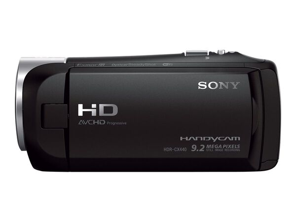 Sony Handycam HDR-CX440 - camcorder - Carl Zeiss - storage: flash cardSony Handycam HDR-CX440 - camcorder - Carl Zeiss - storage: flash card, , hi-res