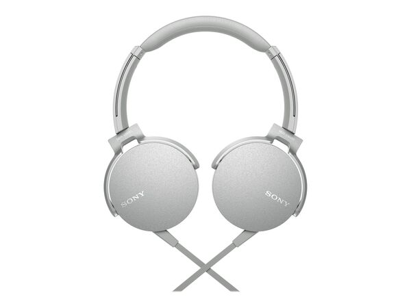 Sony MDR-XB550AP - headphones with micSony MDR-XB550AP - headphones with mic, White, hi-res