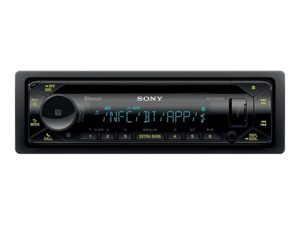 Sony MEX-N5300BT - car - CD receiver - in-dash unit - Single-DINSony MEX-N5300BT - car - CD receiver - in-dash unit - Single-DIN, , hi-res