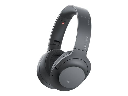 Sony h.ear on 2 Wireless NC WH-H900N - headphones with mic, Black, hi-res