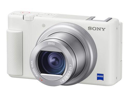 Sony ZV-1 - digital camera - ZEISS, White, hi-res
