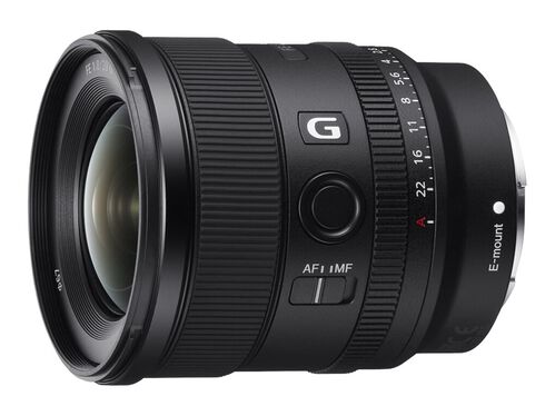 Sony SEL20F18G - wide-angle lens - 20 mm, , hi-res