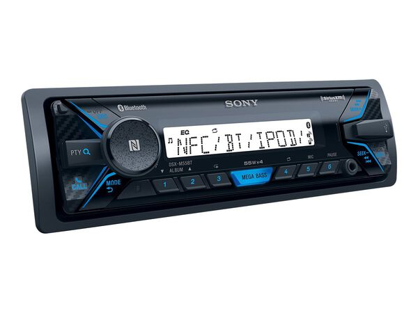 Sony DSX-M55BT - marine - digital receiver - in-dash unit - Full-DINSony DSX-M55BT - marine - digital receiver - in-dash unit - Full-DIN, , hi-res