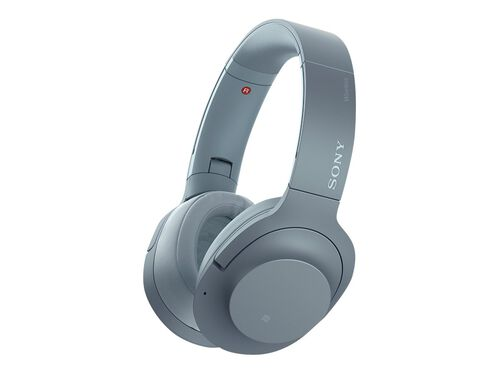 Sony h.ear on 2 Wireless NC WH-H900N - headphones with mic, Blue, hi-res