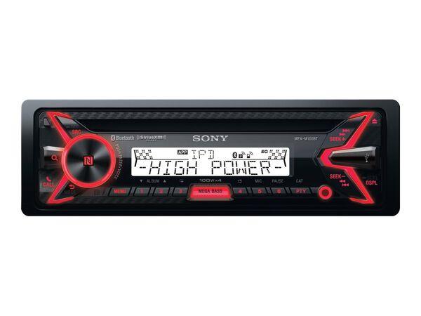 Sony MEX-M100BT - car - CD receiver - in-dash unit - Single-DINSony MEX-M100BT - car - CD receiver - in-dash unit - Single-DIN, , hi-res