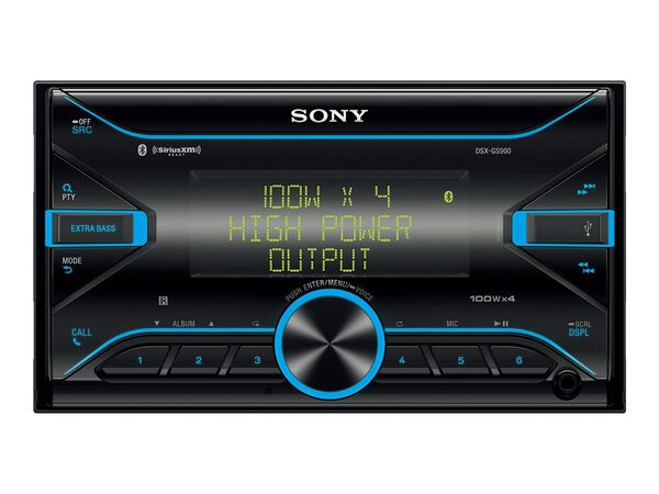 Sony DSX-GS900 - car - digital receiver - in-dash unit - Double-DINSony DSX-GS900 - car - digital receiver - in-dash unit - Double-DIN, , hi-res