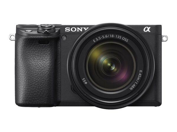 Sony α6400 ILCE-6400M - digital camera E 18-135mm OSS lensSony α6400 ILCE-6400M - digital camera E 18-135mm OSS lens, , hi-res