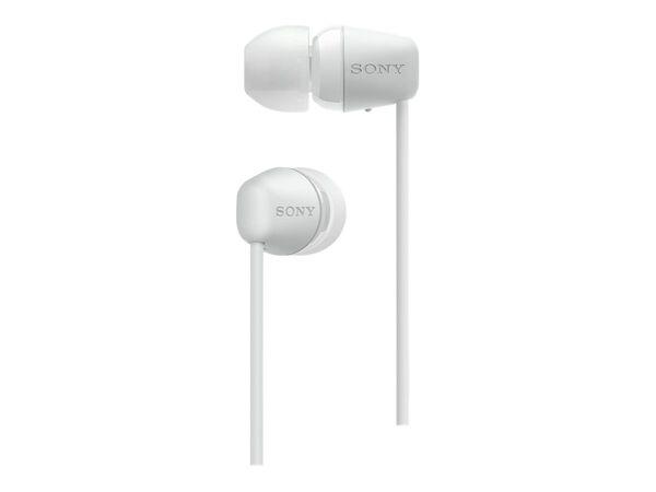 Sony WI-C200 - earphones with micSony WI-C200 - earphones with mic, White, hi-res