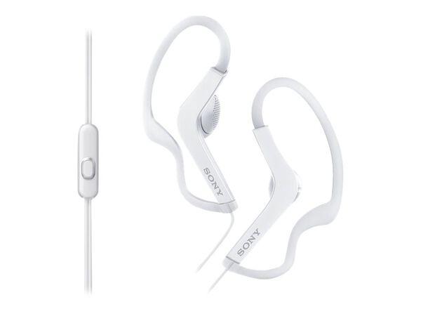 Sony MDR-AS210AP - earphones with micSony MDR-AS210AP - earphones with mic, White, hi-res