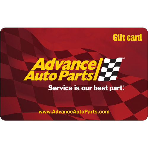 Advance Auto Parts: $25 Gift Card