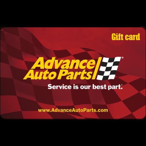 Advance Auto Parts: $50 Gift Card