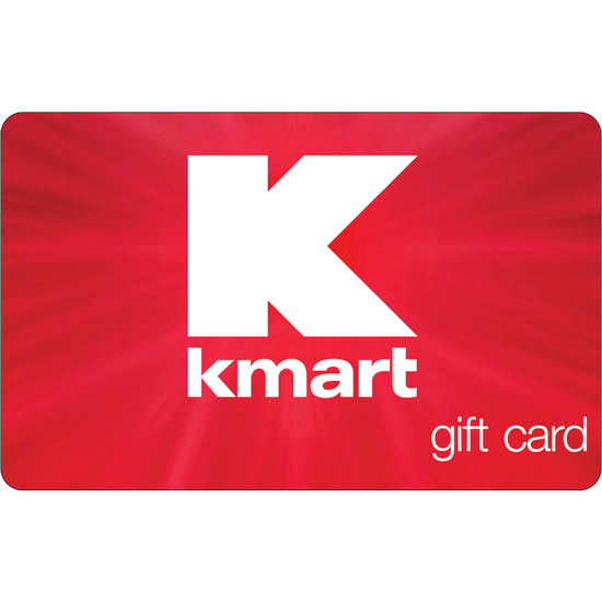 Kmart: $100 Gift CardKmart: $100 Gift Card