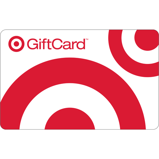 Target: $25 Gift CardTarget: $25 Gift Card