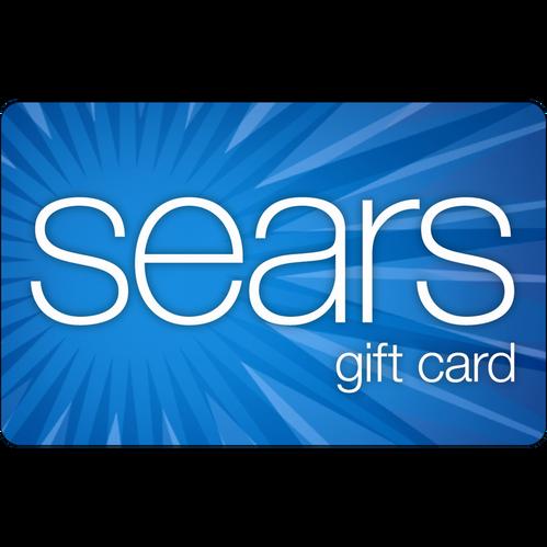 Sears: $25 Gift Card