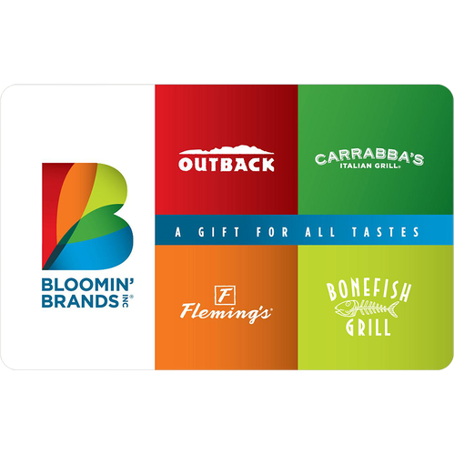 Outback: $25 Gift Card