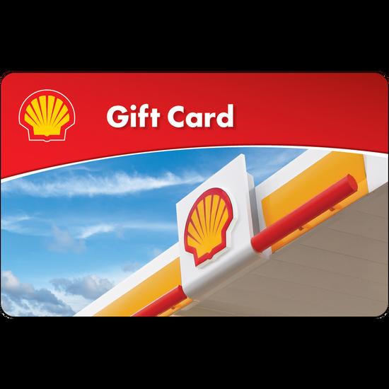 Shell: $25 Gift CardShell: $25 Gift Card