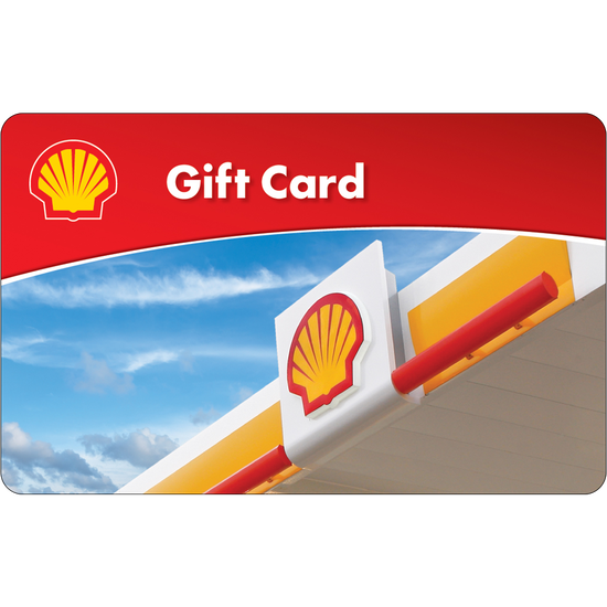 Shell: $50 Gift Card