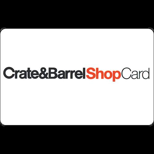 Crate & Barrel: $25 Gift Card
