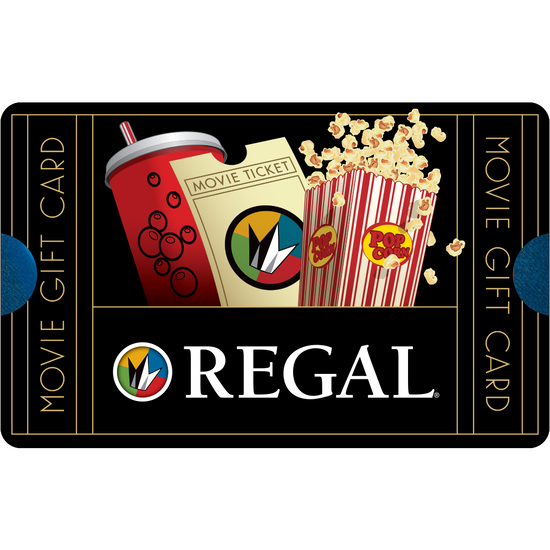 Regal Entertainment: $10 Gift CardRegal Entertainment: $10 Gift Card