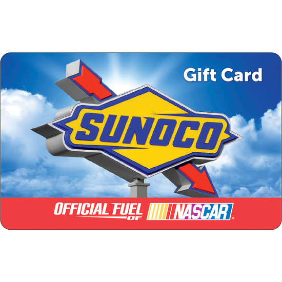 Sunoco: $50 Gift CardSunoco: $50 Gift Card