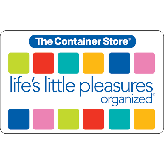 The Container Store: $100 Gift CardThe Container Store: $100 Gift Card